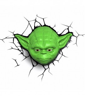 Luz quitamiedos 3D Star Wars YODA