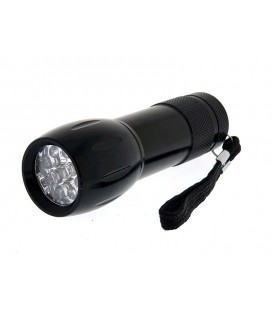 Linterna 9LED (pilas no incluidas)