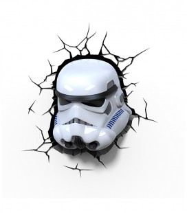 Luz quitamiedos 3D Star Wars STORMTROOPER