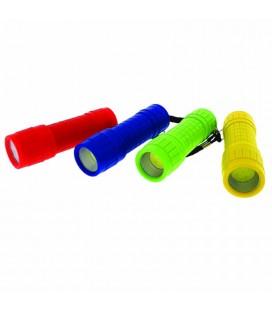 Linterna plástico LED varios colores