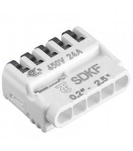 Conector rápido cable 2x5