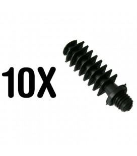 10 pernos M-6 para abrazaderas clip