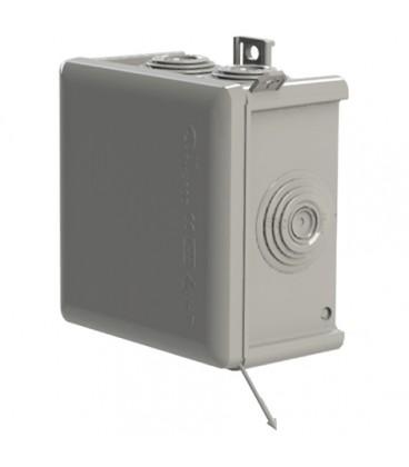 Caja estanca 7 conos 83x83x56mm con tapa a presión IP65