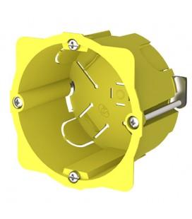 Caja redonda Ø65x50mm enlazable para mecanismos pladur