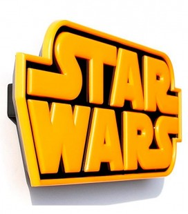 Luz quitamiedos 3D Star Wars LOGO STAR WARS