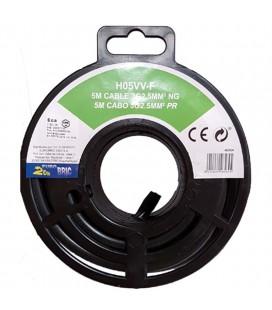 H05VV-F 3g2,5mm2 negro