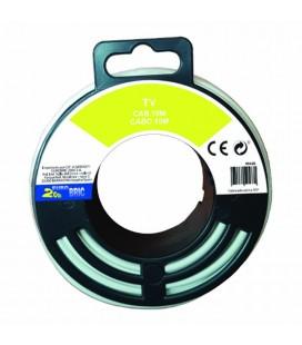 Coaxial T.V. conductor de cobre
