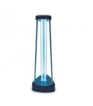 Lámpara UV-C esterilizadora +Ozono pulsador táctil 38W