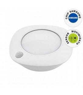 Luz de armario circular con sensor de movimiento