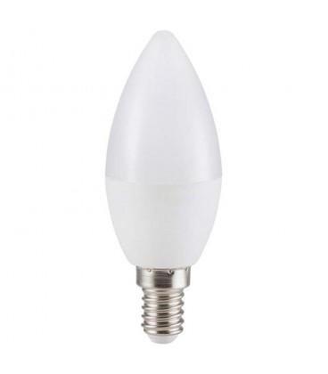 Pack 3 bombillas LED 5.5W vela E14 2700K 470 lumens