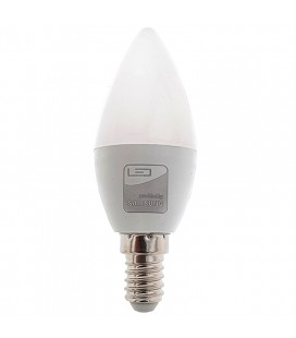 Bombilla Vela LED 7W E14 3000K Chip SAMSUNG