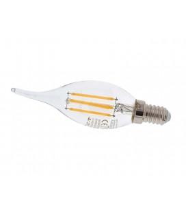 4W filamentos E14 Regulable tipo vela-llama 350lm 2700K