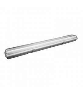 Regleta estanca LED 2x27W 5400LM tubos incluidos