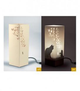 "Lámpara diseño papel ""Kitten"", Bombilla E14(no incluida)"