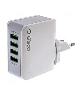 Cargador USB 4 puertos auto ID 4.4A