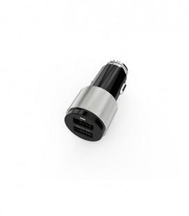 Cargador de coche 2 USB 4,2A. Auto ID