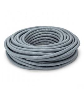 Tubo metálico flexible plastificado 25m