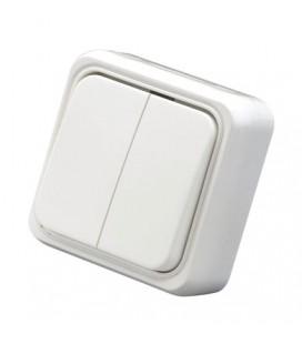 Interruptor electrico doble superficie 10A