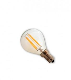 Bombilla Led Filamento 4w esferica E14 2700K 430 lumens