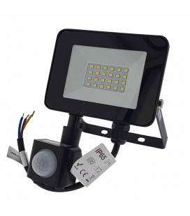 PROYECTOR LED 20W CON DETECTOR 1800LM