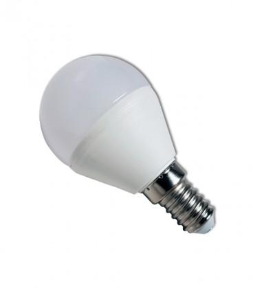 Bombilla Esferica LED E14 6W 4000K 500 lumens
