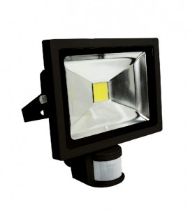 PROYECTOR LED 10W CON DETECTOR 900LM
