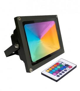 PROYECTOR LED RGB 50W CON MANDO 5400LM