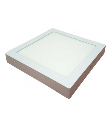 Panel LED de superficie- Cuadrado 4000K