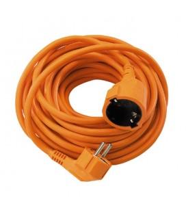 Prolongador 10M H05VV-F 3G1,5 naranja