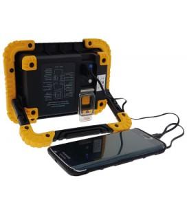 Proyector LED de trabajo estanco con batería 10W