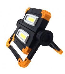 Proyector LED Trabajo plegable 2x10W C/Bateria