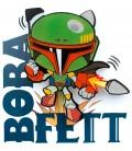 Luz quitamiedos 3D Star Wars Mini Boba Fett