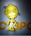Luz quitamiedos 3D Star Wars Mini C-3PO