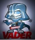 Luz quitamiedos 3D Star Wars Mini Vader