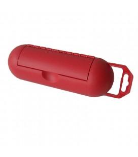 Caja protección conexiones roja