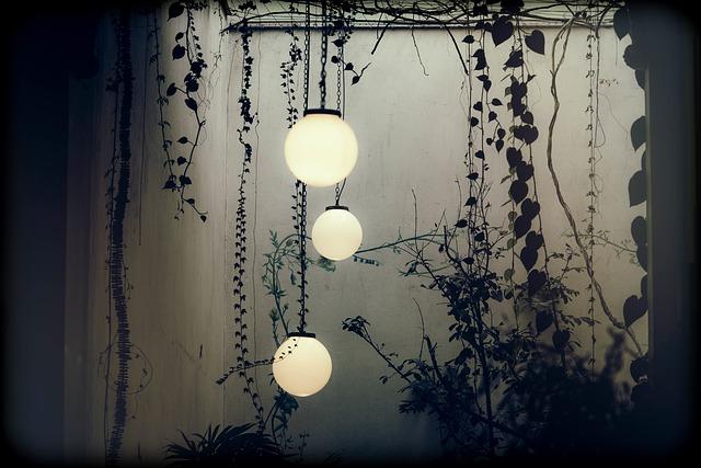 Ideas originales para lámparas en la vivienda